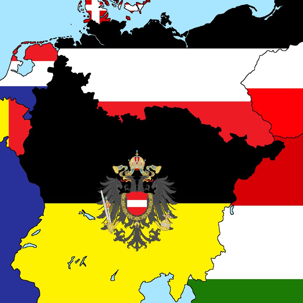 risultati immagini per flag of german empire ucrony and