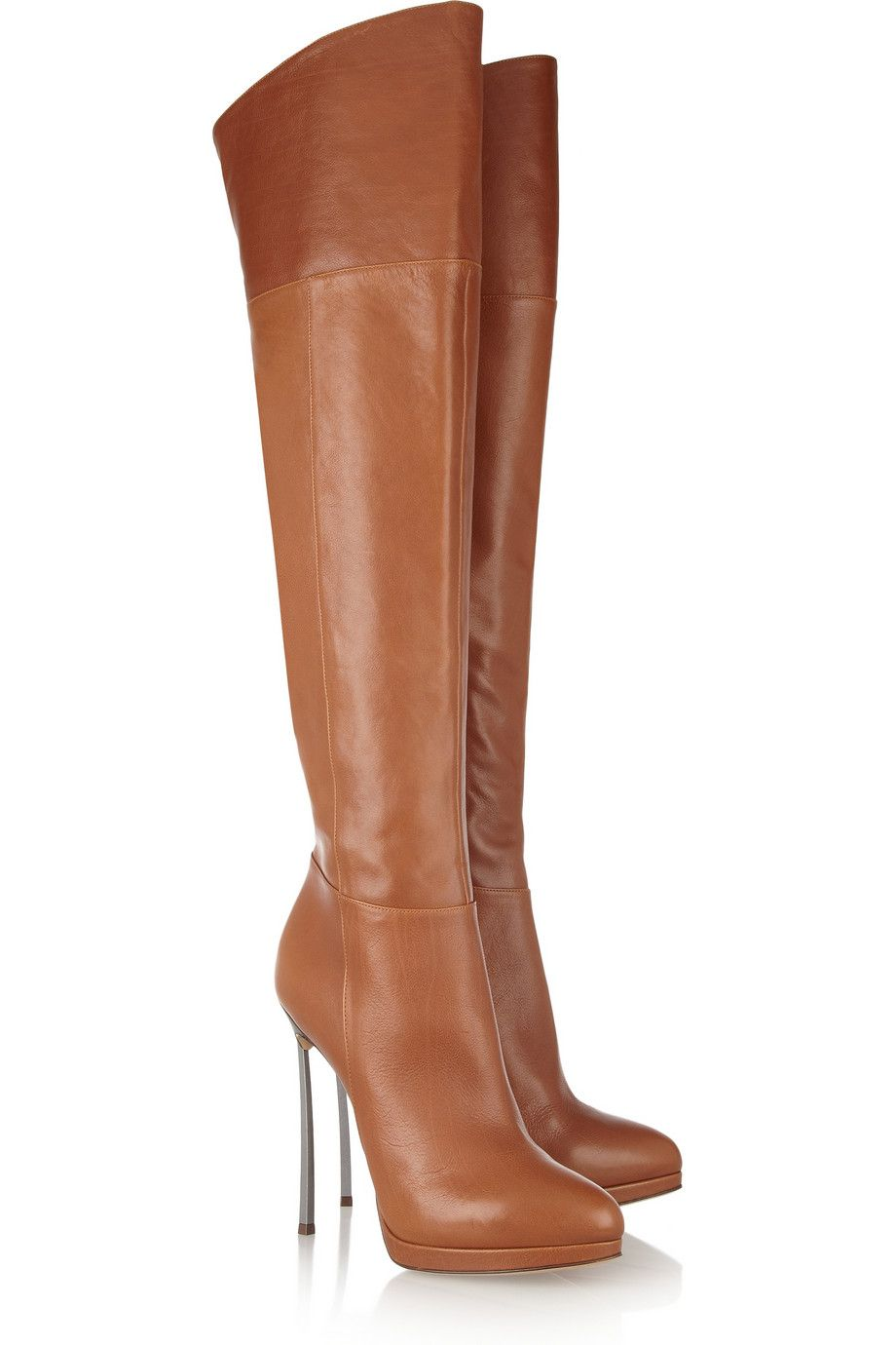 14693f55209 Leather thigh boots by Casadei- on clearance for  455 ha ha in my dreams.  Gorgeous though!