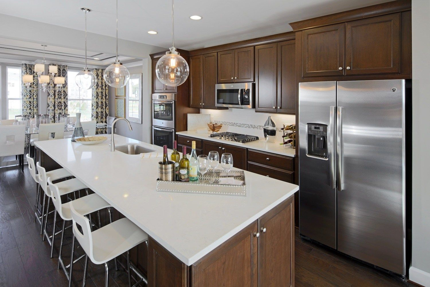 Hillwood SOLD OUT Open floor plan kitchen, Brown