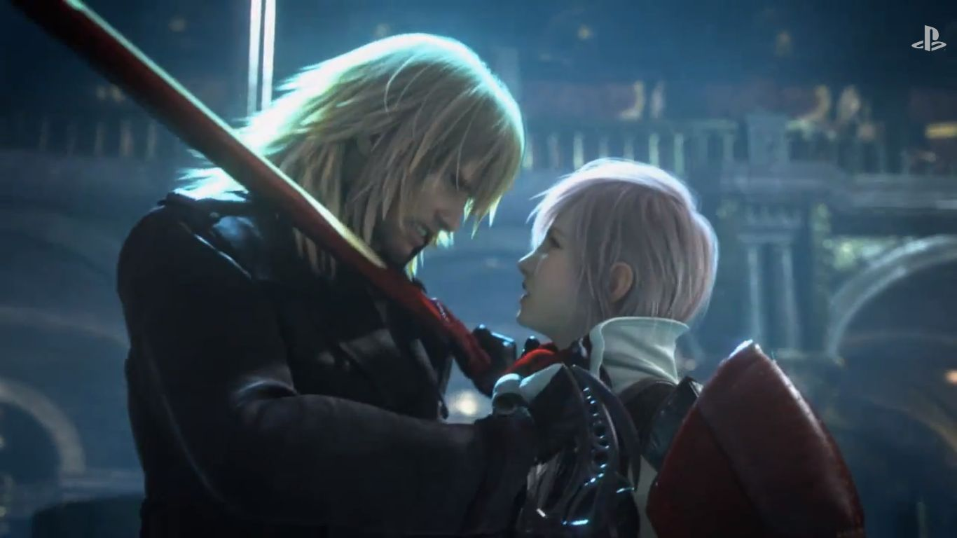 Lightning returns final fantasy xiii opening cut scene released snow vs lightning in lightning returns ffxiii cant wait for the release next voltagebd Gallery