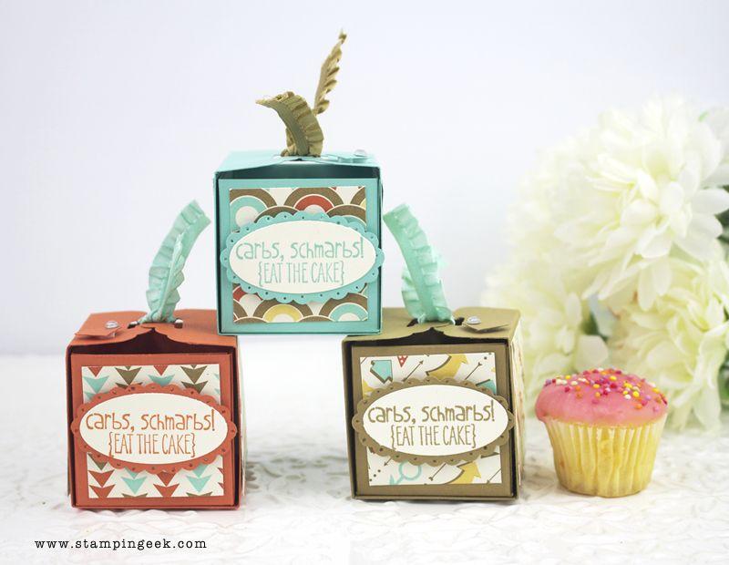 Stampin' Geek  Stampin' Up! AU - Cupcake Wrap Box