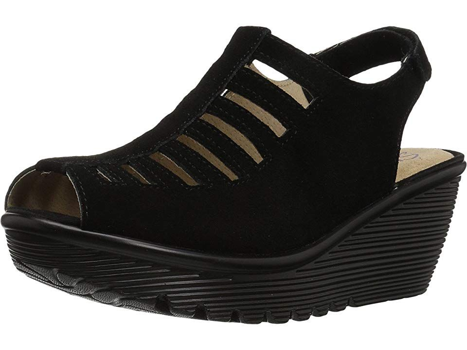 e5d48730c9 SKECHERS Parallel - Trapezoid Women's Shoes Black | Products | Wedge ...