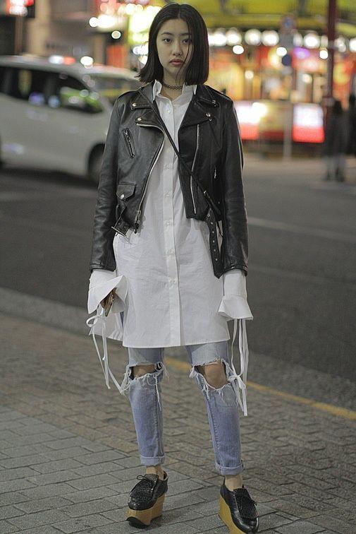 Street Fashion Tokyo Fashion Week Jesien Zima 2017 2018 Tokyo Fashion Fashion Street Style Outfit