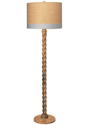 Perfect Jamie Young Lighting Floor Lamp Base Barley Twist   Maybe A Little DIY  Burlap, Ribbon, And Paint.