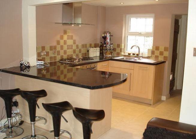 Desain Cantik Dapur Kecil Sederhana Modern Dekorasi Minimalis Dapur Ruang Keluarga Minimalis