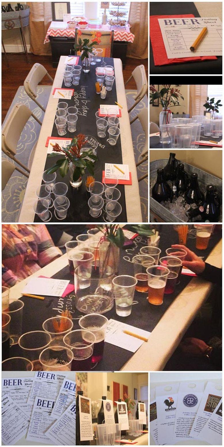 Wine Beer Tasting Party Ideas Beer Tasting Party Glasses Beer ...