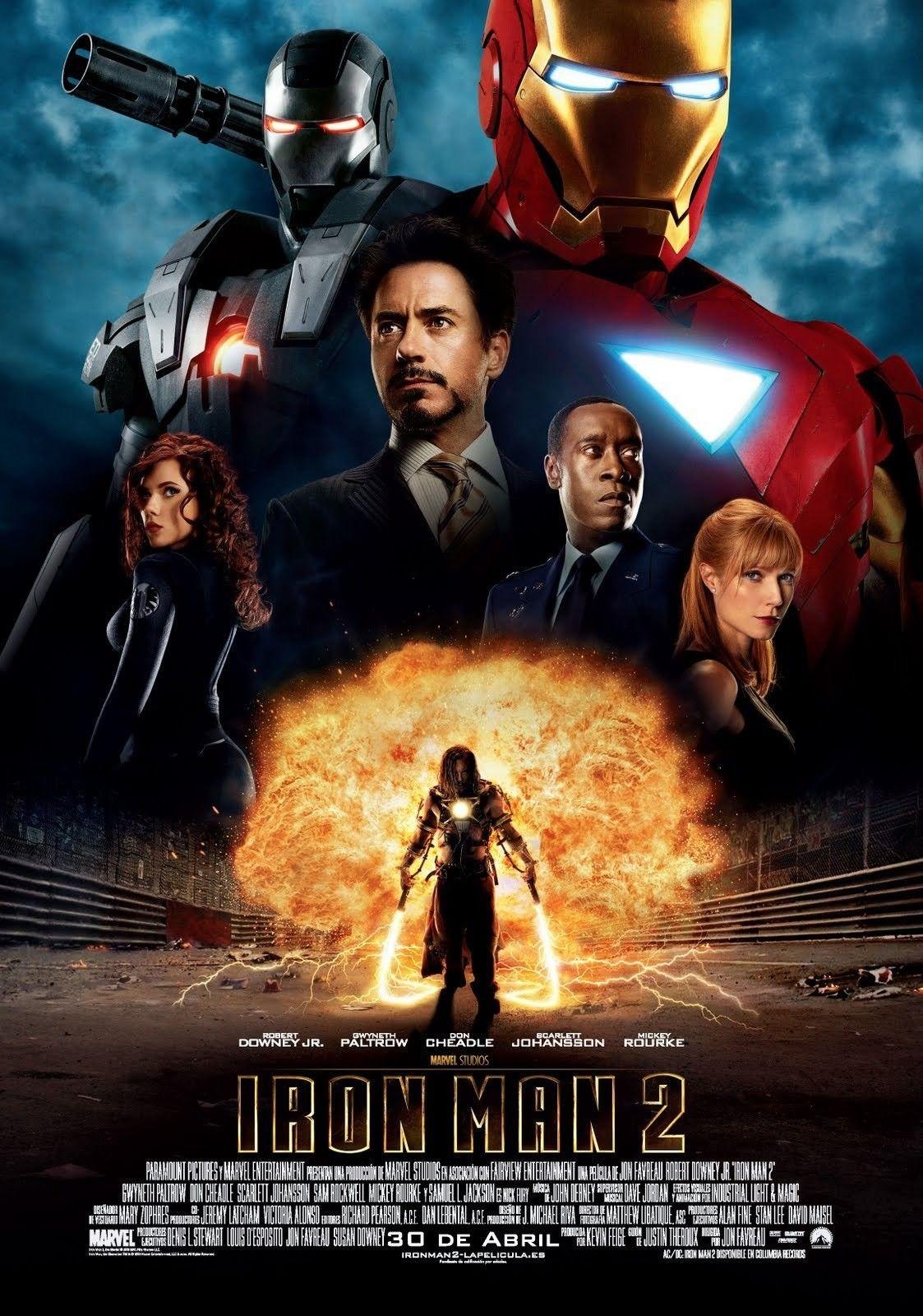 Ver Iron Man 2 Online Gratis 2010 Hd Pelicula Completa Espanol Marvel Movie Posters Iron Man Movie Iron Man Poster