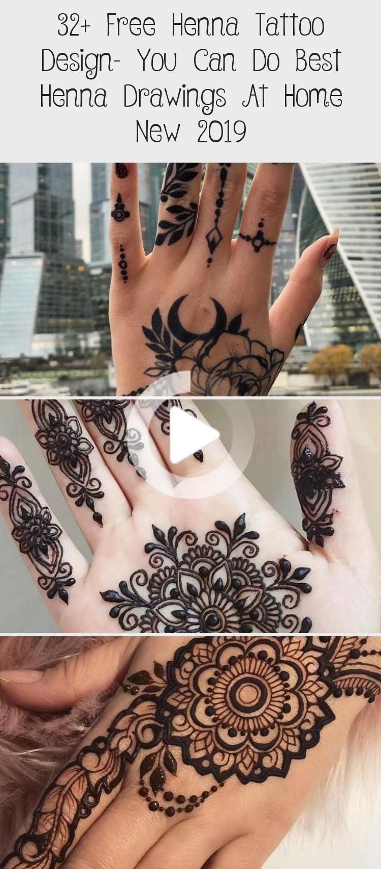 32 Gratis Henna Tattoo Design Kan De Beste Henna Tekeningen Thuis Make New 2019 Tatoeages En Henna Tattoo Henna Tattoo Designs Henna Drawings