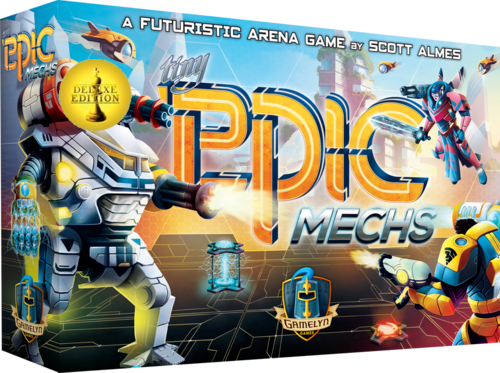 Tiny Epic Mechs Deluxe Game programming, Game design
