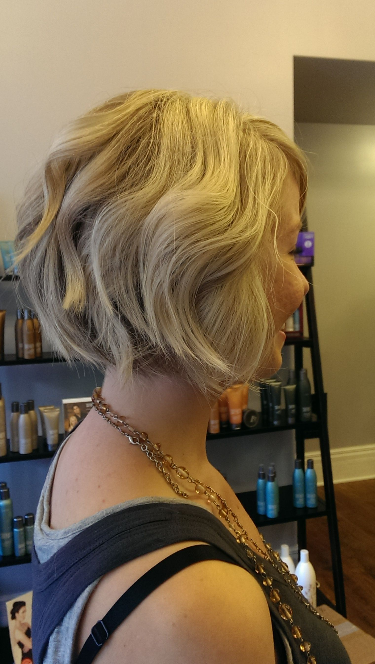 Short layered blonde bob emma martin pinterest blonde bobs