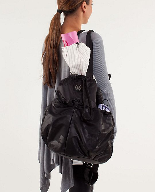 8de27614f72 Lululemon Bliss Bag. So versatile and perfect for the yoga studio, gym or  even