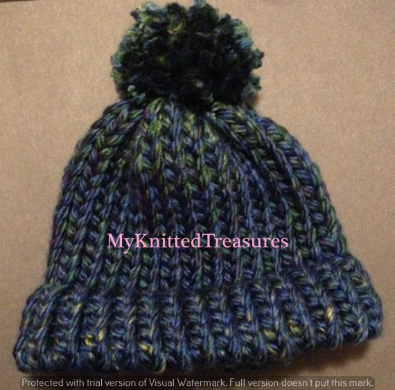 Loom Knit Baby Hat Pattern By Myknittedtreasures On Etsy
