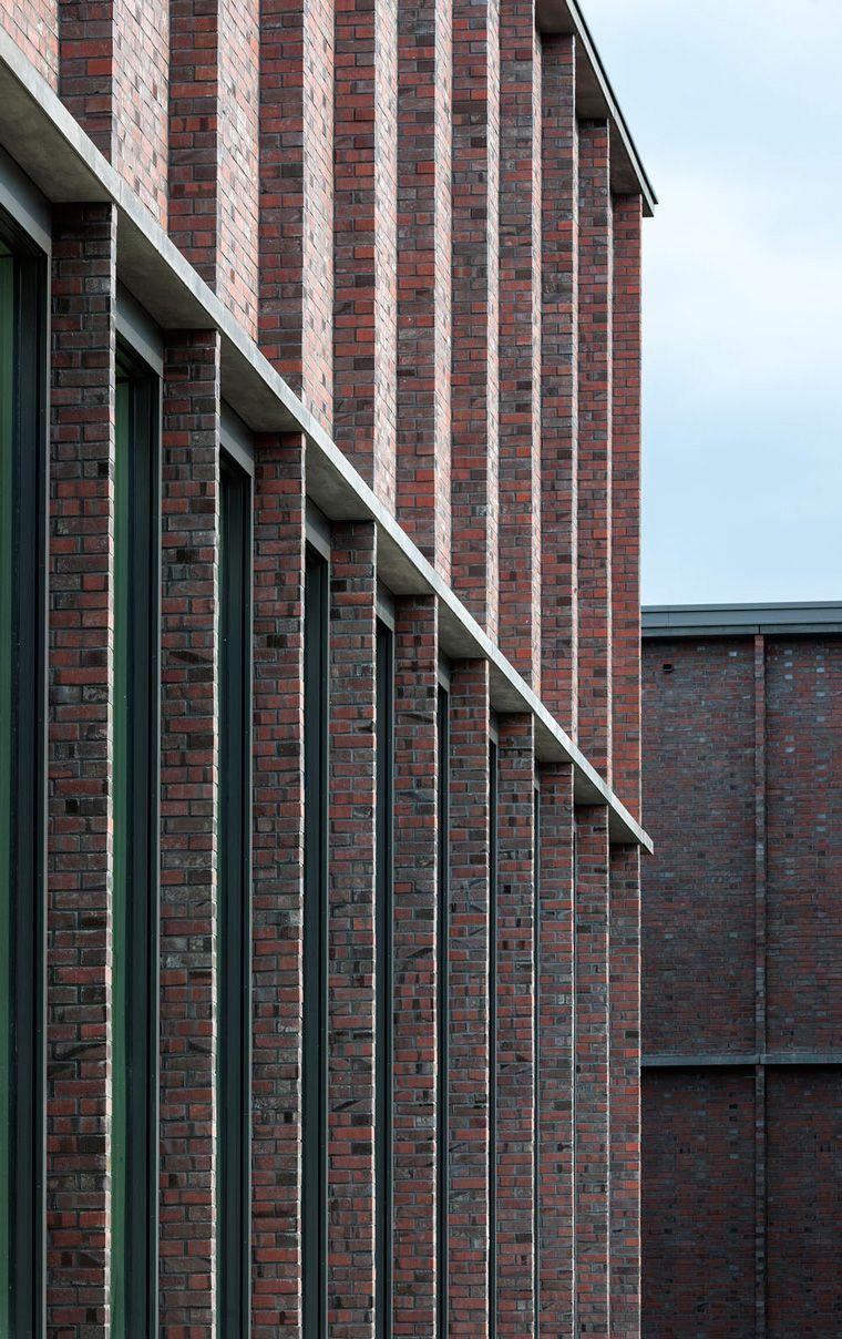 Architekt Lüneburg neues museum lüneburg springer architekten facades brick