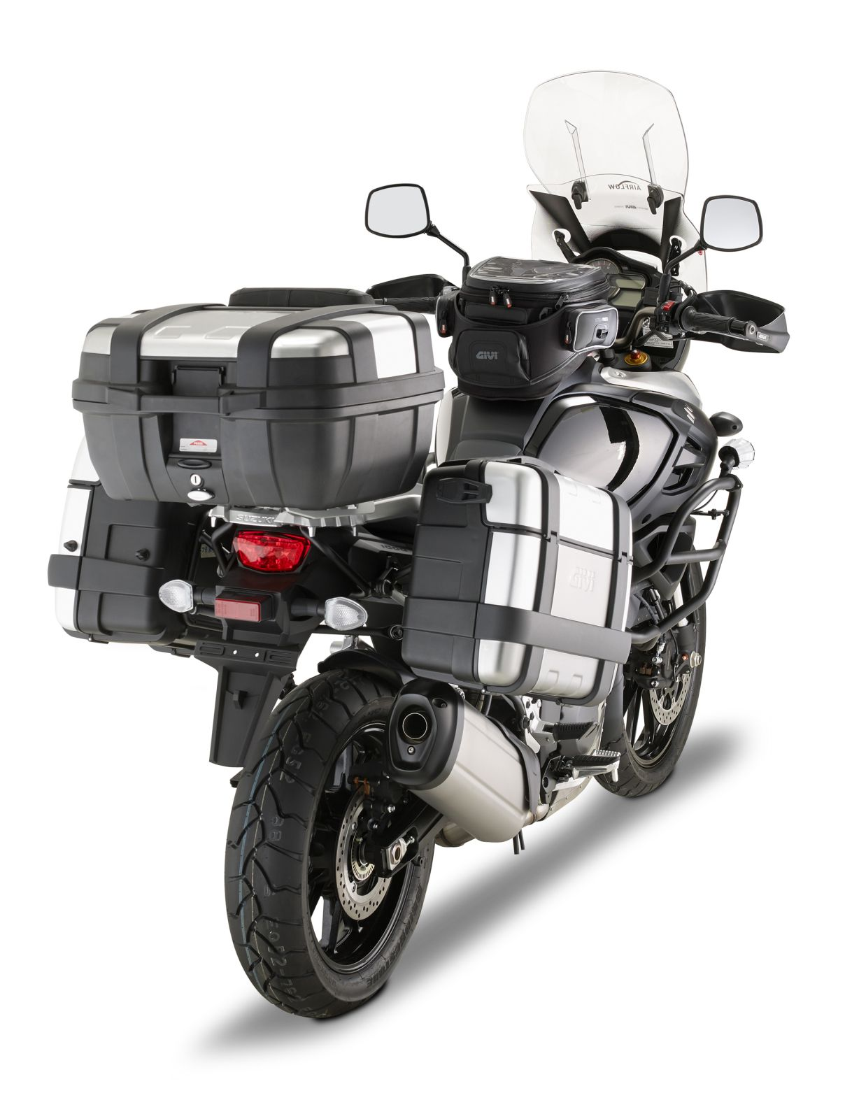 Givi Release Photos Of V Strom 1000 2014 Accessories Bike Accessories Touring Bike Adventure Bike