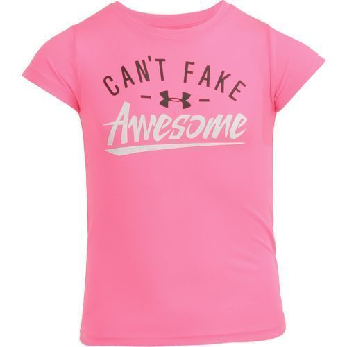 7c03c3734613 Under Armour Girls Cant Fake Awesome T-shirt