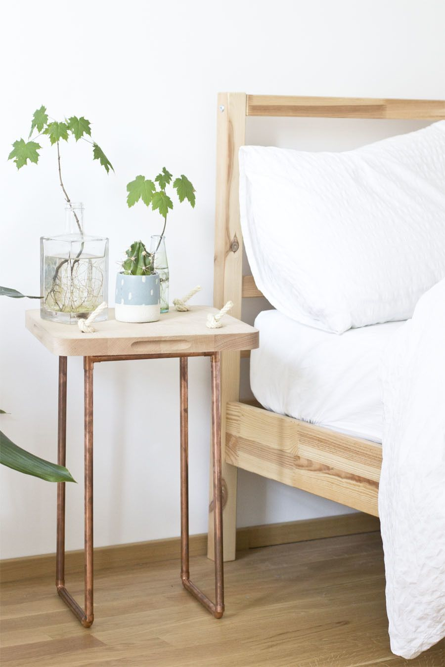Buy john lewis wood and white metal clothes rail online at ...