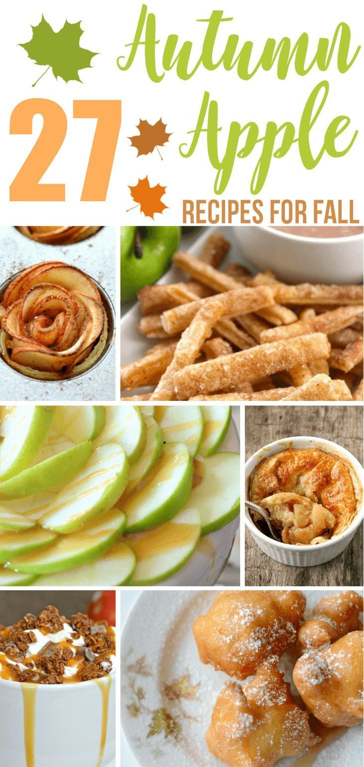 When it comes to food, nothing screams autumn like recipes that include apples. …