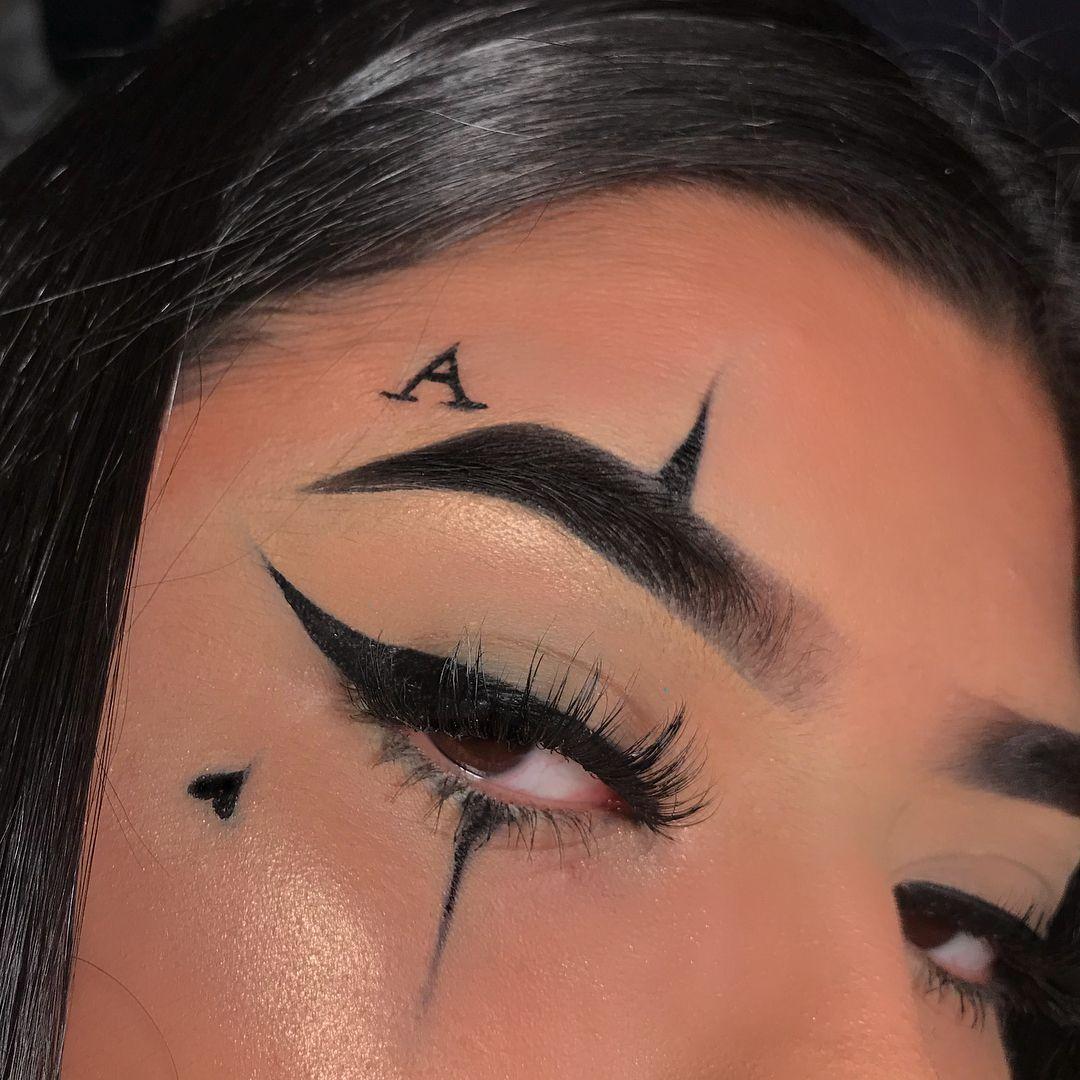 Darkmakeupburgundy In 2020 Edgy Makeup Emo Makeup Punk Makeup