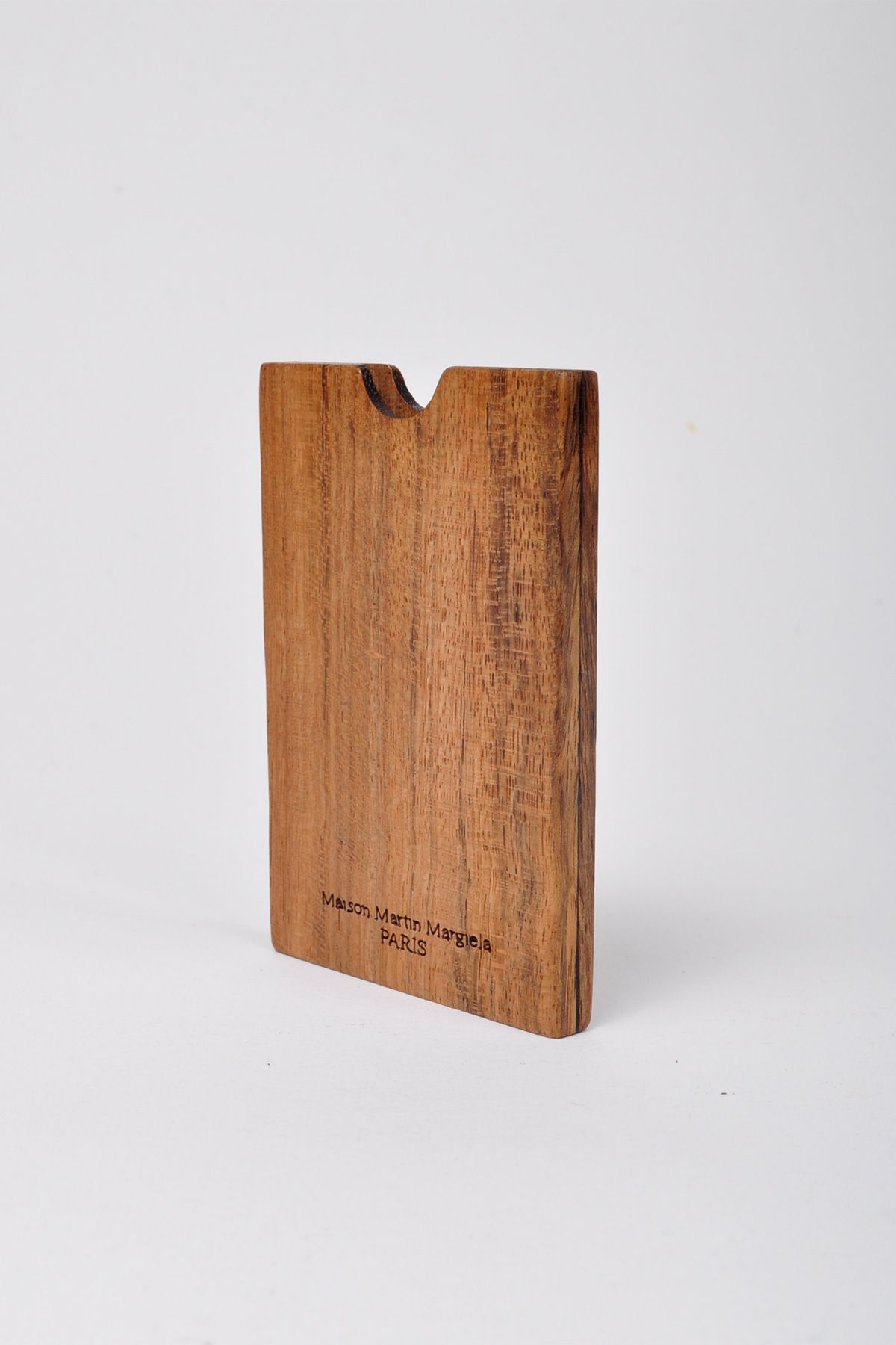 Maison Martin Margiela 11 Light Wood Card Holder