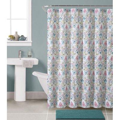 Bungalow Rose Gallager Shower Curtain Set Color Marlene Multi