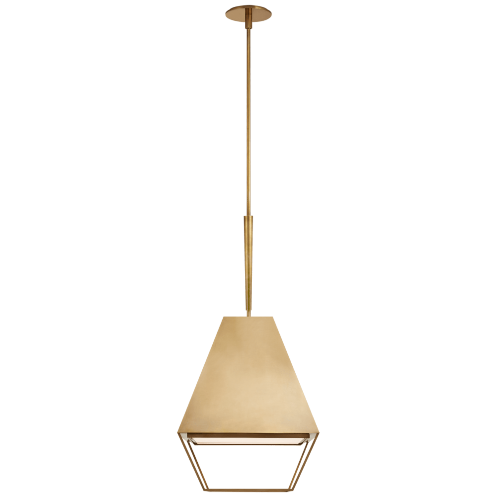 Odeum Medium Lantern Circa Lighting Lanterns Visual Comfort
