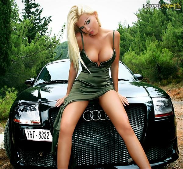 Sexy girls with sexy cars