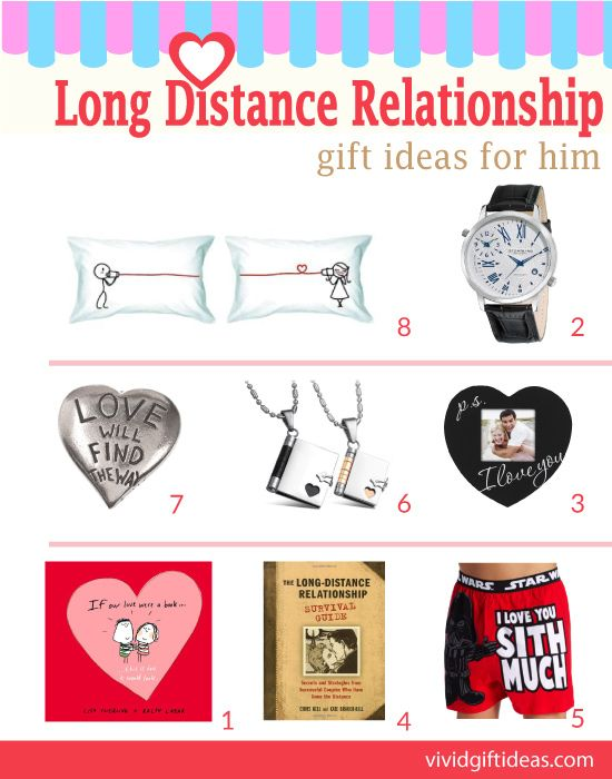 Long Distance Relationship Gift Ideas For Him Gifts For Boyfriend