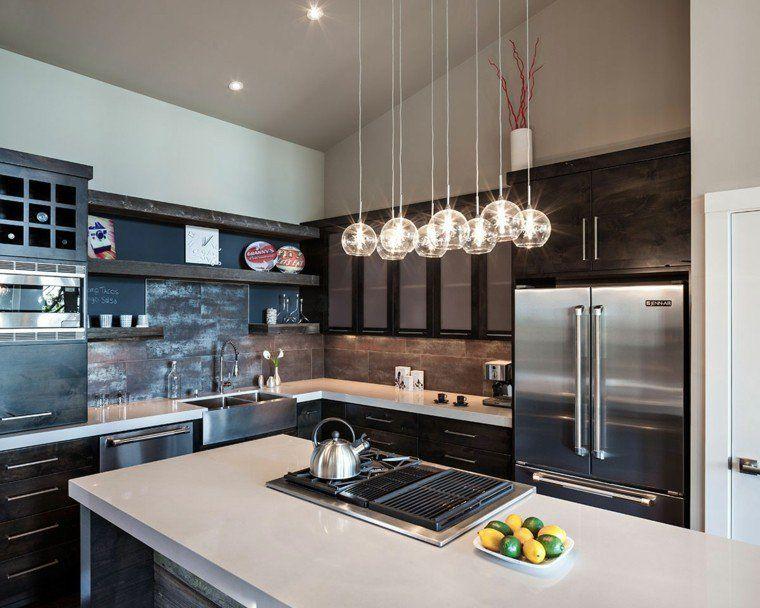 Luminaire Cuisine Moderne : Épinglé par kenisahome sur lighting design cuisine moderne