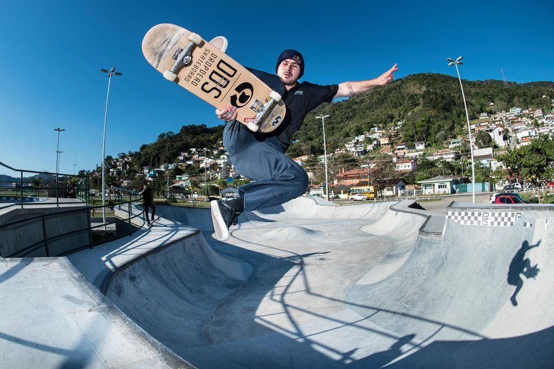 Pedro Barros, taking to the skies
