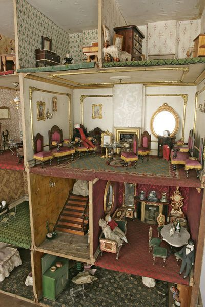 The Henriques House (Dolls' house)   V&A Search the Collections