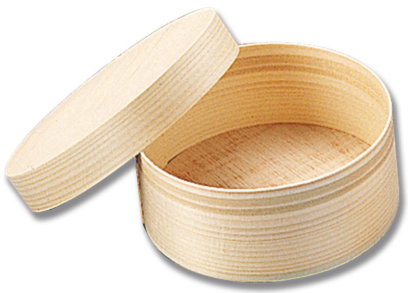 Legno Naturale Chiaro : Scatola in balsa tonda mm. 127 nm varie pinterest