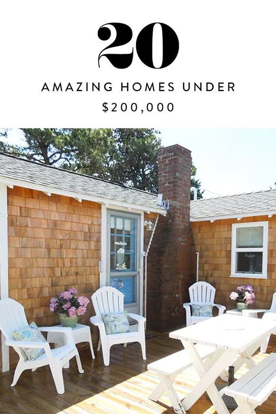 20 Amazing Houses Under $200,000 | Amazing houses and House