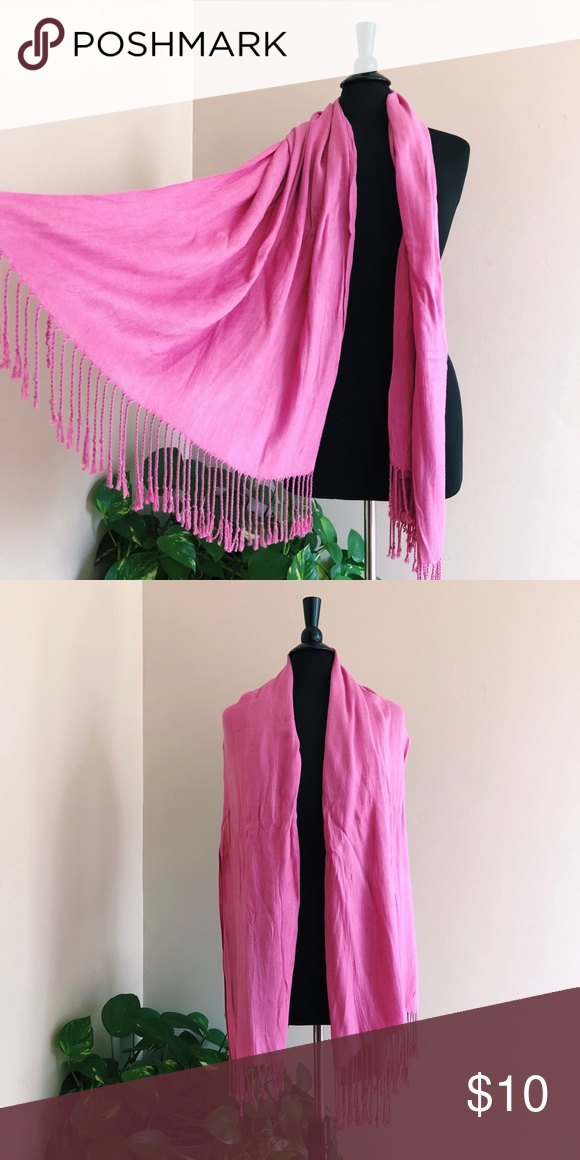 Pink Scarf Hanger Great Condition