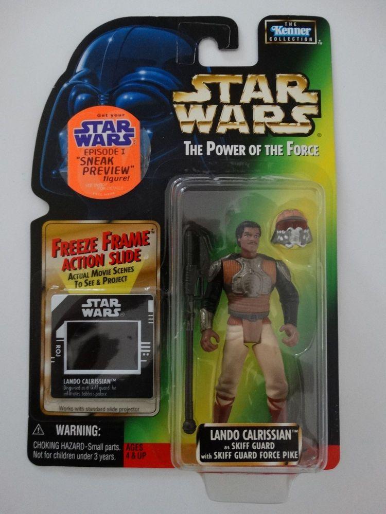 1997 Star Wars POTF Lando Calrissian as Skiff Guard