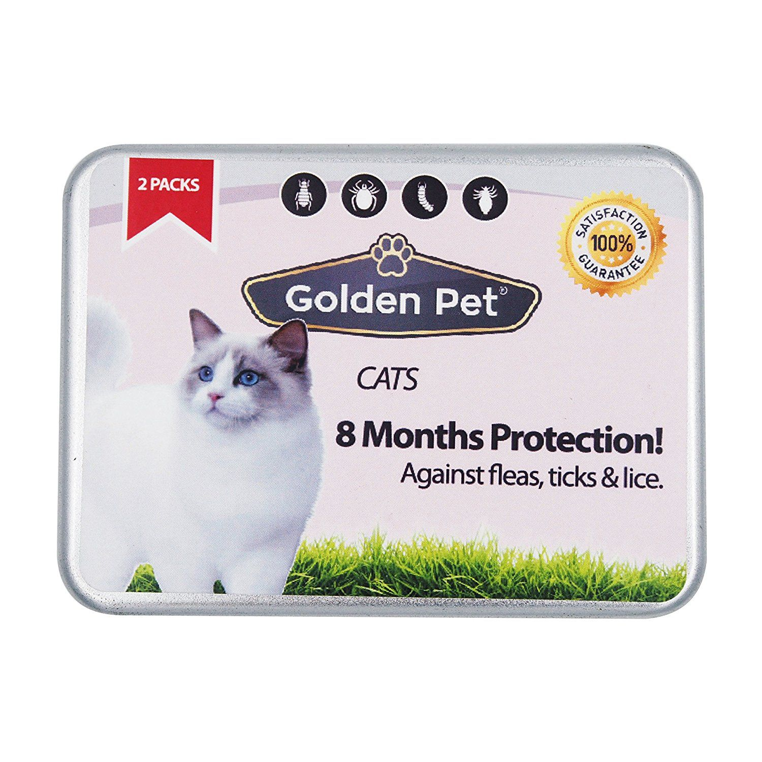 Cat Tick And Flea Collar 8 Months Protection Waterproof All Sizes Click Image For More Details This Is An Affiliate Link Cat Fleas Dog Items Dog Pin