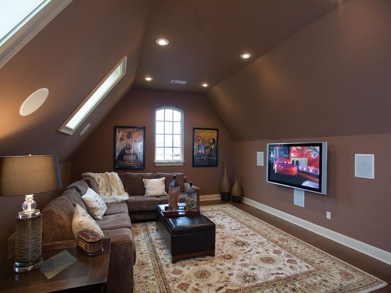 Bonus Room Bergamo Manor Luxury Home Media Room Photo 01 from