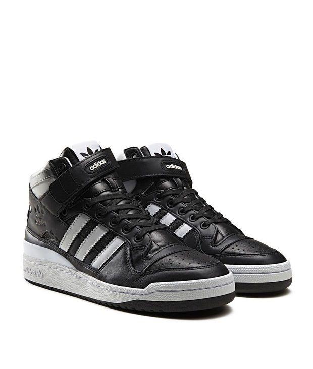 e15334055738a7 adidas Originals Forum Mid  Refined   Black Grey
