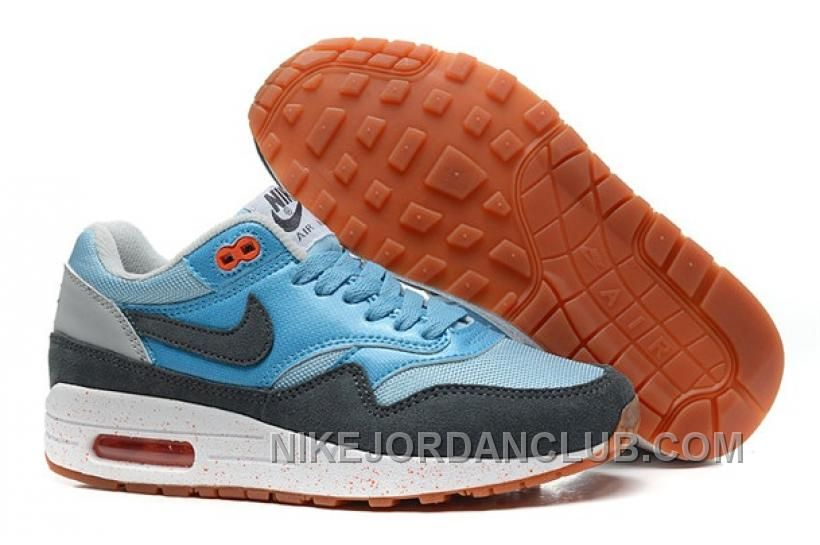 huge discount d2bdc ad34c Womens Nike Air Max 1 Light Armory Blue Armory Slate Atomic Pink Shoes Nike  Free Run 3 -