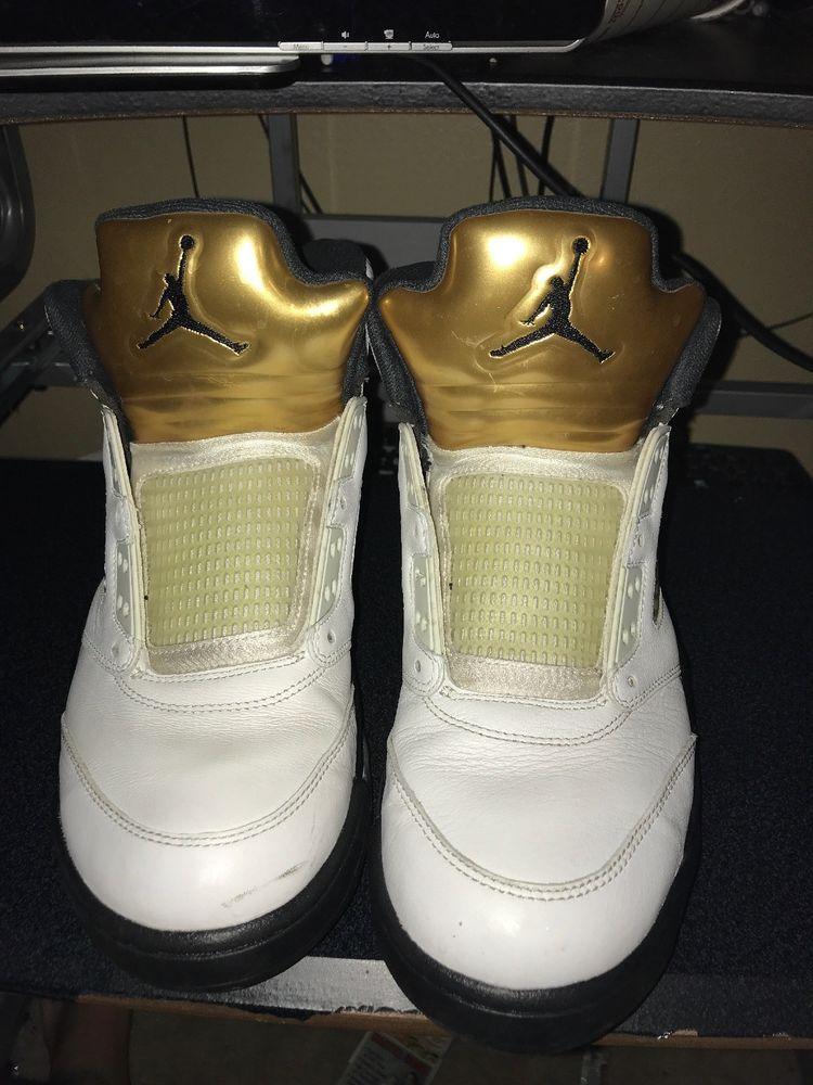 2d360c823405e Air Jordan Retro 5 Olympic Gold Size 11 Good Condition #fashion ...
