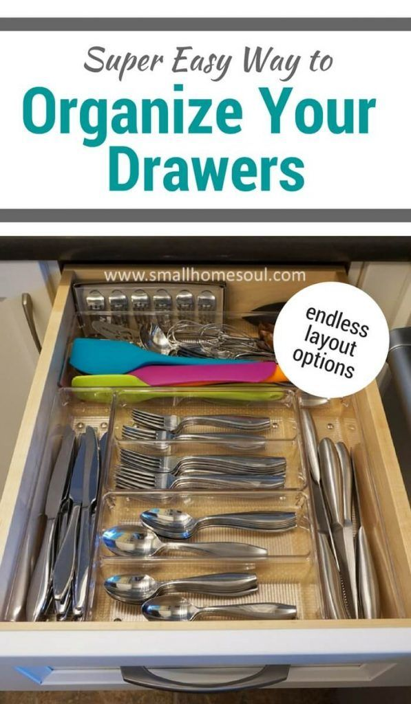 Organize Your Kitchen Drawers Kitchen drawer organization fast easy solutions kitchen drawer get your kitchen drawer organization done quickly and easily with these bins organization workwithnaturefo