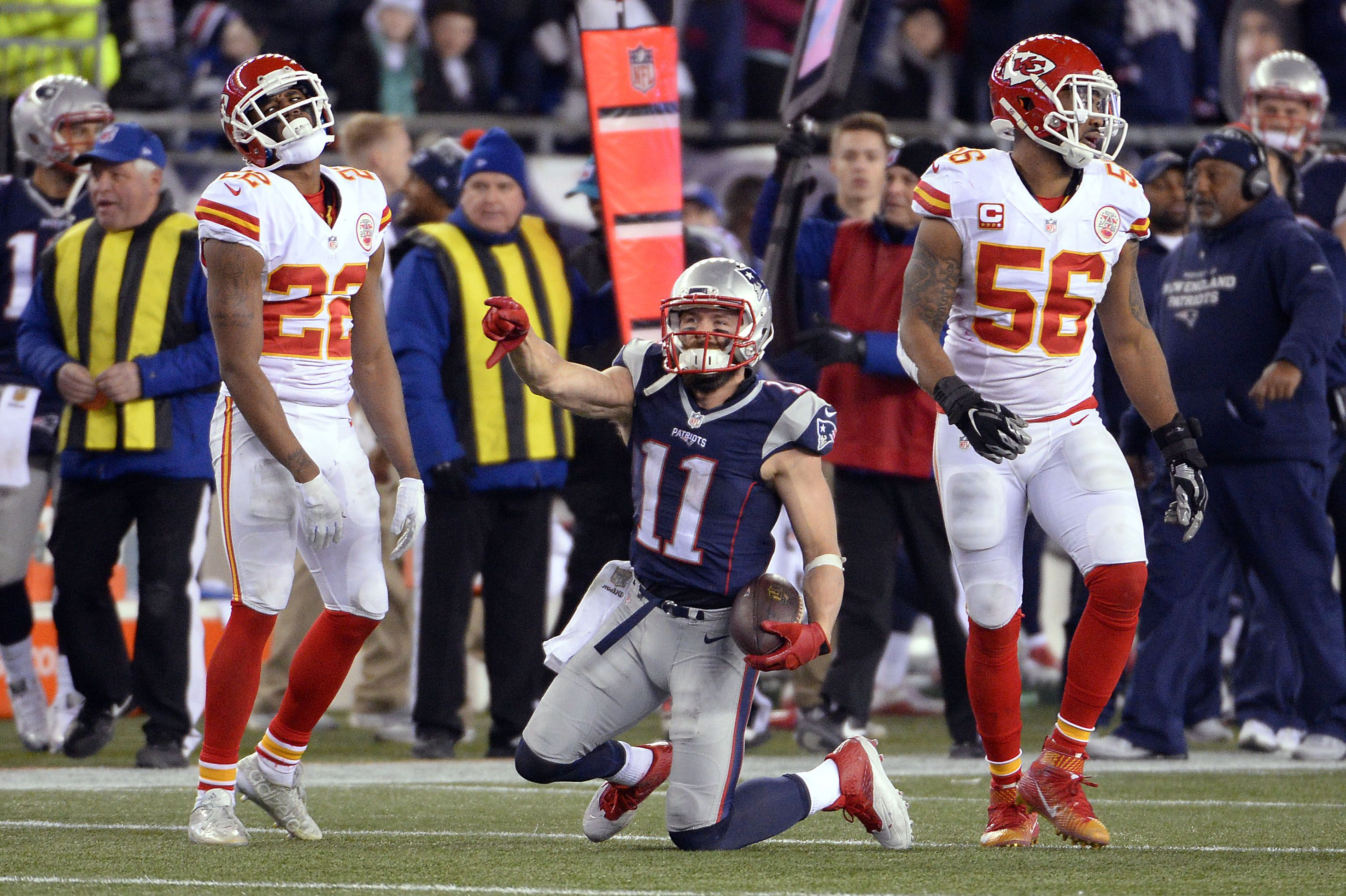 Julian Edelman Star Pats Remind You The Force Is Strong With Patriots Julian Edelman New England Patriots Patriots