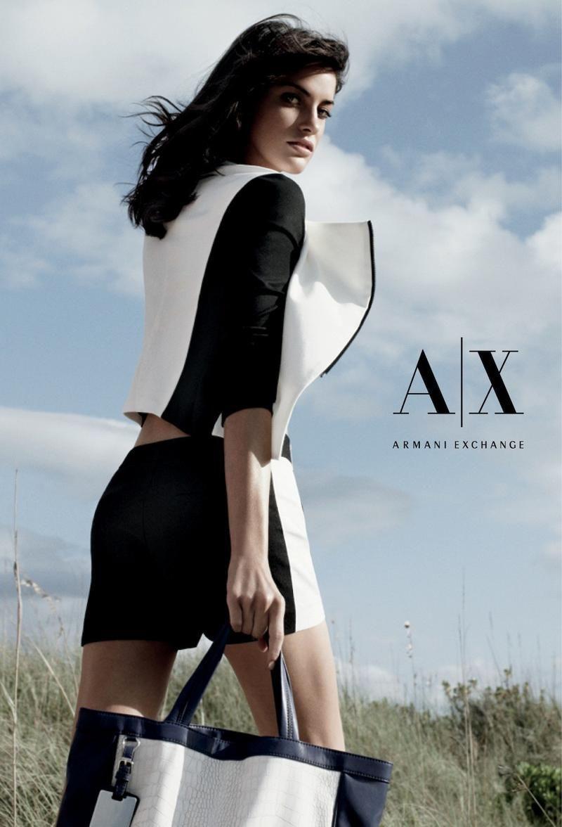 Alejandra Alonso for Armani Exchange S/S 2013 - Campaign