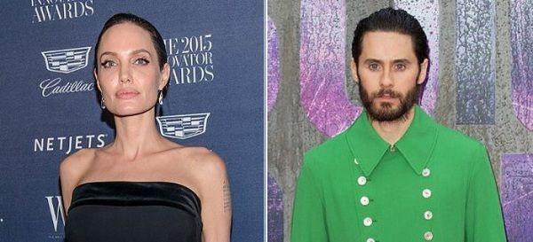 Angelina Jolie de romance con ¿Jared Leto?