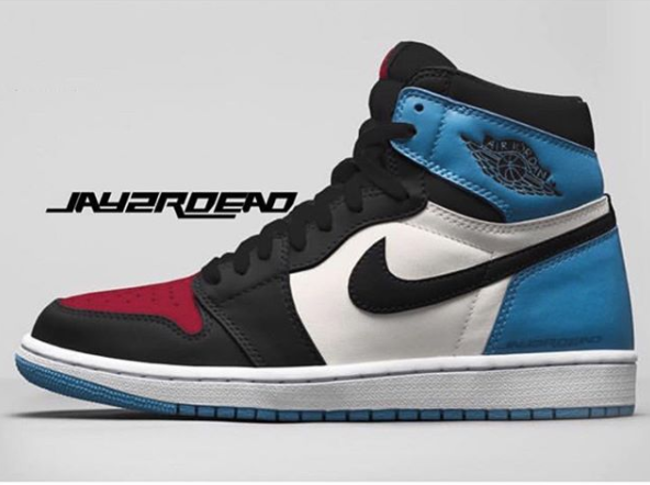 114806c749fd Air Jordan 1 Retro High OG Black Varsity Red University Blue Sail To Drop  In December