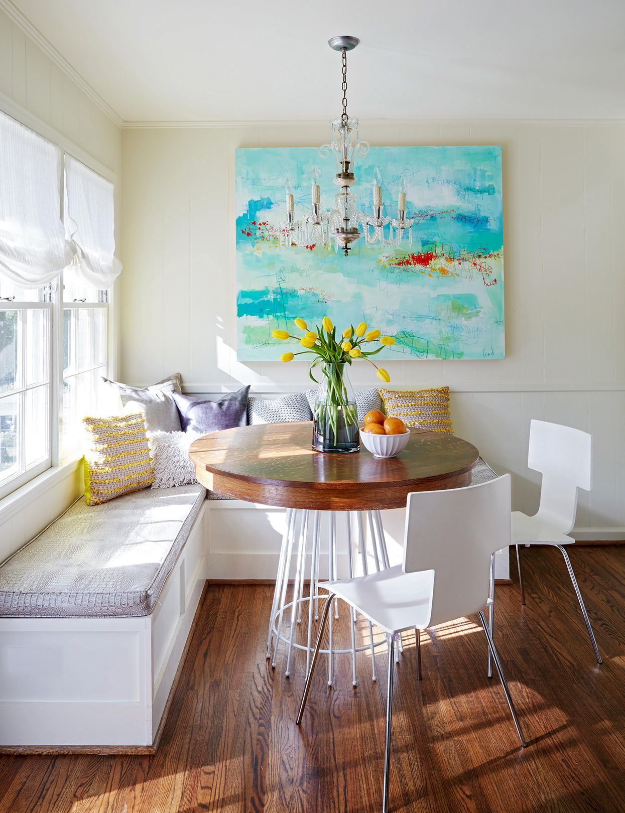 Breakfast Room Banquette Ideas Casual Dining Rooms Dining Room