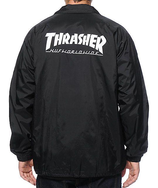 968514a27731 HUF x Thrasher Classic H Coach Jacket