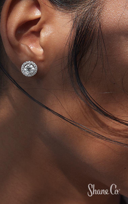 Diamond Earring Jackets In 14k White Gold Diamond Earring Jackets Diamond Earrings Studs Tiny Diamond Earrings