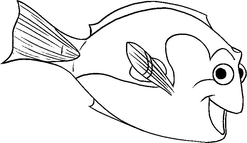 Finding Nemo Dory Unique | Finding Nemo Coloring Pages | Pinterest ...