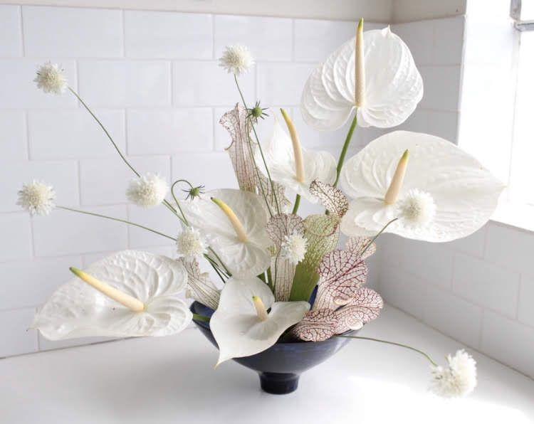 Pin By Jessica Riano On Wedding Anthurium Bouquet Corporate Flowers Anthurium Arrangement
