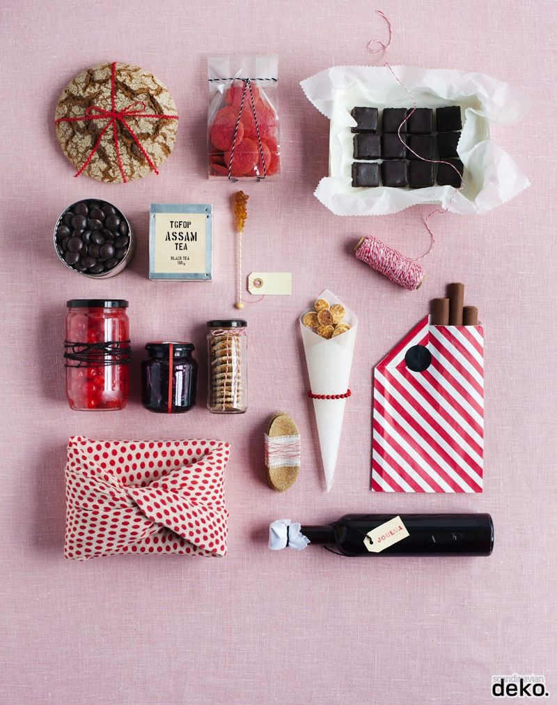 Wrapping Tips For Edible Gifts Via Scandinavian Deko A